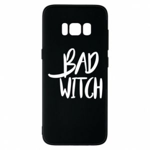Phone case for Samsung S8 Bad witch - PrintSalon