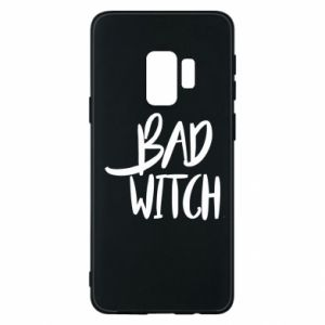 Phone case for Samsung S9 Bad witch - PrintSalon