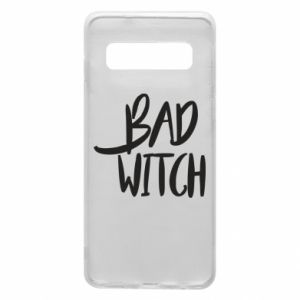 Phone case for Samsung S10 Bad witch - PrintSalon