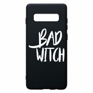 Phone case for Samsung S10+ Bad witch - PrintSalon