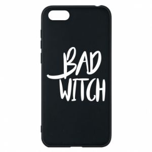 Phone case for Huawei Y5 2018 Bad witch - PrintSalon
