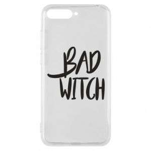 Phone case for Huawei Y6 2018 Bad witch - PrintSalon