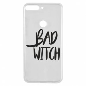 Phone case for Huawei Y7 Prime 2018 Bad witch - PrintSalon