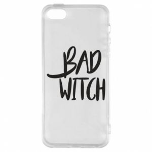 Phone case for iPhone 5/5S/SE Bad witch - PrintSalon