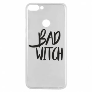 Phone case for Huawei P Smart Bad witch - PrintSalon