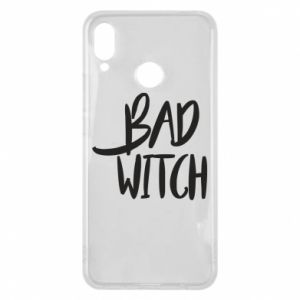 Phone case for Huawei P Smart Plus Bad witch - PrintSalon