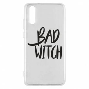 Phone case for Huawei P20 Bad witch - PrintSalon