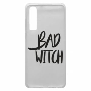 Phone case for Huawei P30 Bad witch - PrintSalon