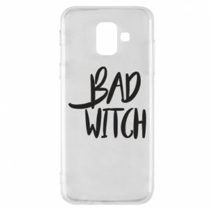 Phone case for Samsung A6 2018 Bad witch - PrintSalon