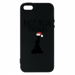 Phone case for iPhone 5/5S/SE Be my Santa