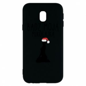 Phone case for Samsung J3 2017 Be my Santa