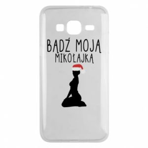 Phone case for Samsung J3 2016 Be my Santa