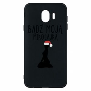 Phone case for Samsung J4 Be my Santa