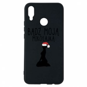 Phone case for Huawei P Smart Plus Be my Santa