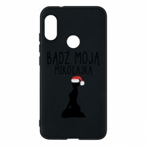 Phone case for Mi A2 Lite Be my Santa
