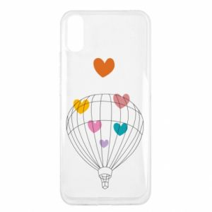 Etui na Xiaomi Redmi 9a Balloon flies to the hearts