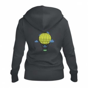 Damska bluza na zamek Balon