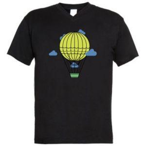 Męska koszulka V-neck Balon