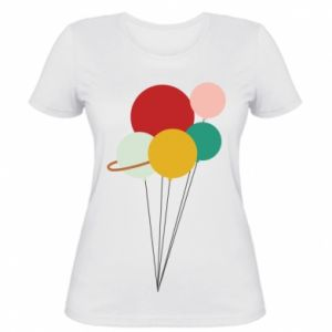 Women's t-shirt Planet balloons