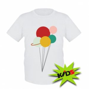 Kids T-shirt Planet balloons