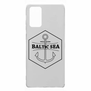 Samsung Note 20 Case Baltic Sea