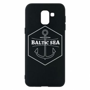 Samsung J6 Case Baltic Sea