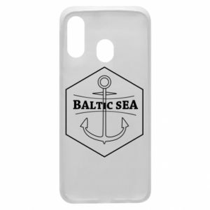 Samsung A40 Case Baltic Sea
