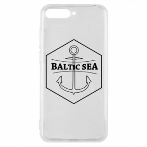 Huawei Y6 2018 Case Baltic Sea