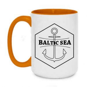 Two-toned mug 450ml Baltic Sea