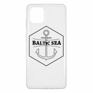 Samsung Note 10 Lite Case Baltic Sea