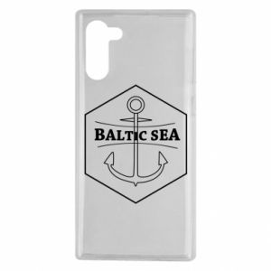 Samsung Note 10 Case Baltic Sea
