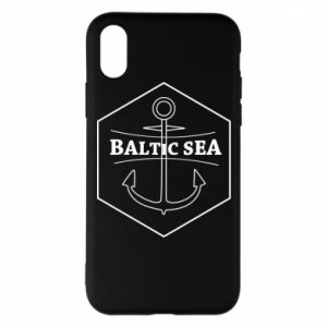 iPhone X/Xs Case Baltic Sea