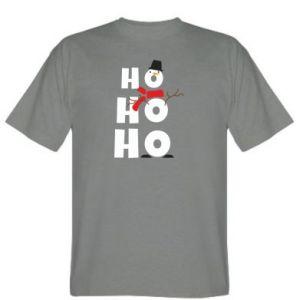 T-shirt Snowman ho ho ho