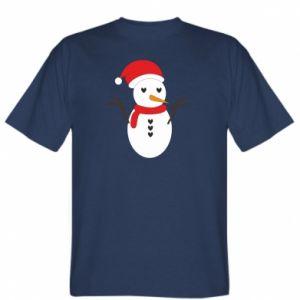 T-shirt Snowman in hat