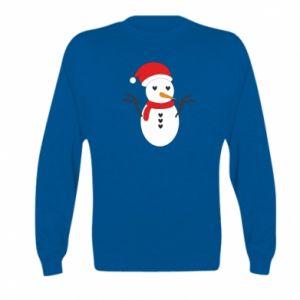 Kid's sweatshirt Snowman in hat