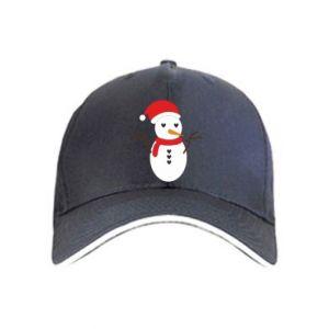 Cap Snowman in hat