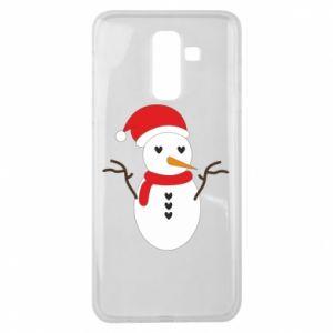 Samsung J8 2018 Case Snowman in hat