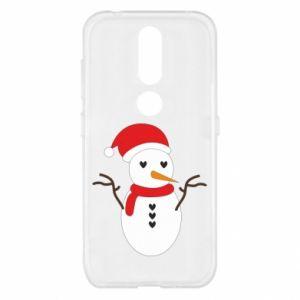 Nokia 4.2 Case Snowman in hat