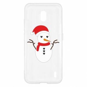 Nokia 2.2 Case Snowman in hat