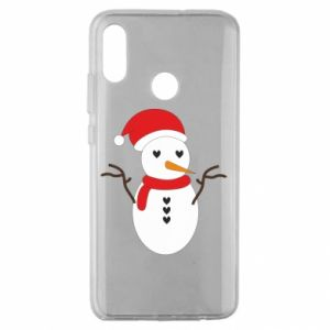 Huawei Honor 10 Lite Case Snowman in hat