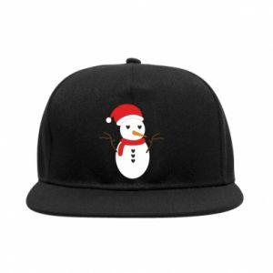 SnapBack Snowman in hat
