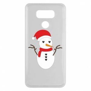 LG G6 Case Snowman in hat