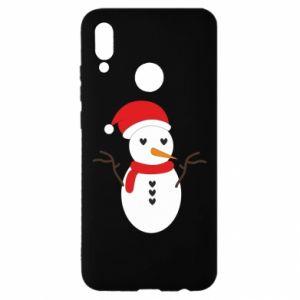 Huawei P Smart 2019 Case Snowman in hat