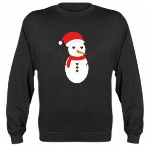 Sweatshirt Snowman in hat