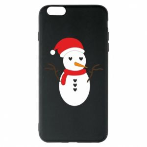 iPhone 6 Plus/6S Plus Case Snowman in hat