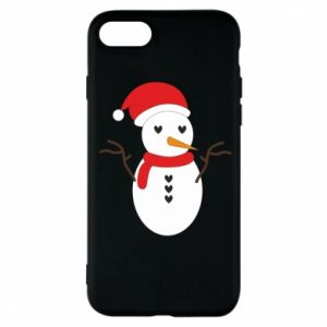 iPhone 7 Case Snowman in hat