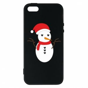 iPhone 5/5S/SE Case Snowman in hat