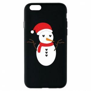 iPhone 6/6S Case Snowman in hat