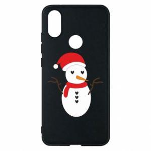 Xiaomi Mi A2 Case Snowman in hat