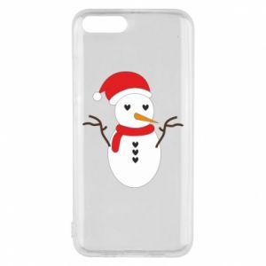 Xiaomi Mi6 Case Snowman in hat